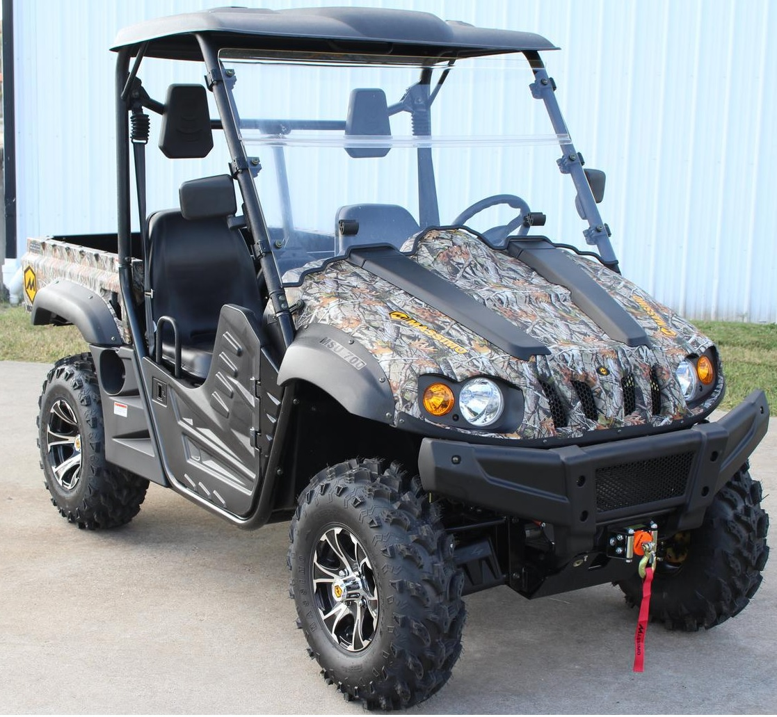 M MASSIMO MOTOR New OEM Clear UTV Front Scratch Resistant Windshield Fit and Compatible with Buck 200 Model